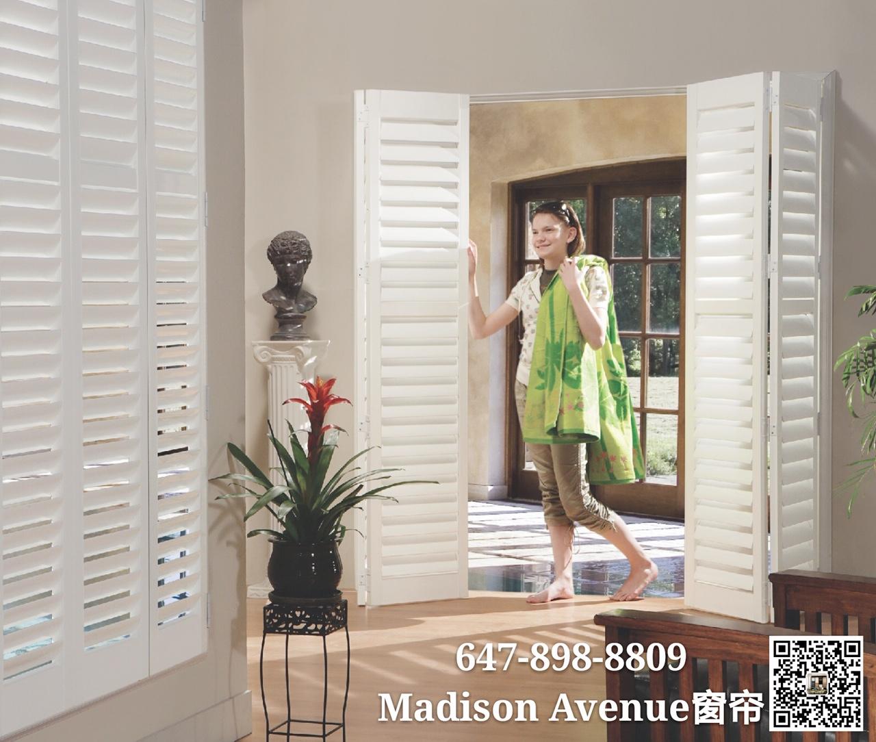 California shutters木百叶窗